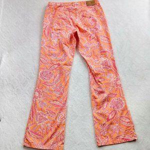 Vintage Tommy Hilfiger floral tropical mom jeans